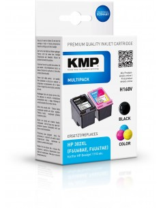 Kmp H168vx Promo Pack Bk/color Comp. With Hp F6t68ae Kmp Creative Lifestyle Products 1745,4005 - 1