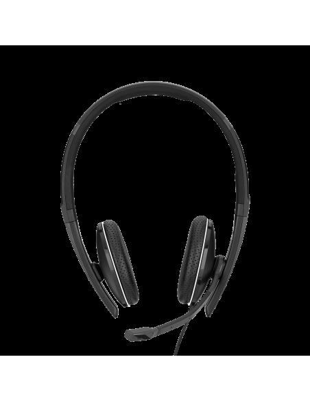 EPOS | Sennheiser ADAPT SC 165 USB Kuulokkeet Pääpanta 3.5 mm liitin A-tyyppi Musta Sennheiser 508317 - 2