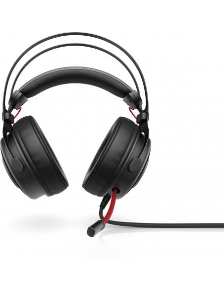 HP Omen 800 Kuulokkeet Pääpanta 3.5 mm liitin Musta, Punainen Hp 1KF76AA#ABB - 1