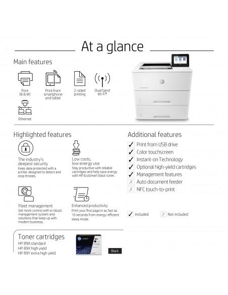 HP LaserJet Enterprise M507x 1200 x DPI A4 Wi-Fi Hp 1PV88A#B19 - 9