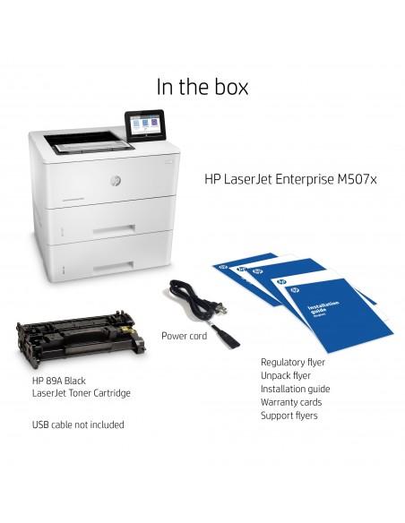 HP LaserJet Enterprise M507x 1200 x DPI A4 Wi-Fi Hp 1PV88A#B19 - 19