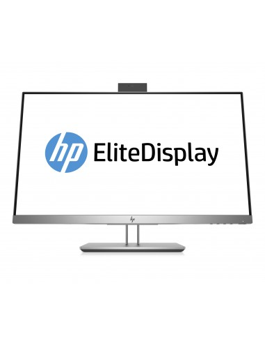 "HP EliteDisplay E243d 60.5 cm (23.8"") 1920 x 1080 pikseliä Full HD LED Harmaa, Hopea Hp 1TJ76AA#ABB - 1"