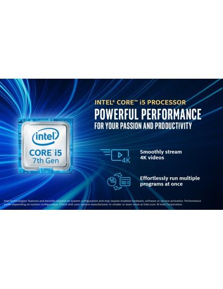 HP Elite Slice G2 i5-7500T USFF 7. sukupolven Intel® Core™ i5 8 GB DDR4-SDRAM 128 SSD Windows 10 IoT Enterprise PC Musta Hp 4ZE3