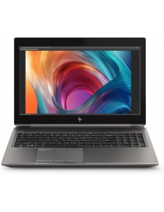 "HP ZBook 15 G6 Mobiilityöasema 39.6 cm (15.6"") 1920 x 1080 pikseliä 9. sukupolven Intel® Core™ i7 16 GB DDR4-SDRAM 512 SSD Hp 6T"