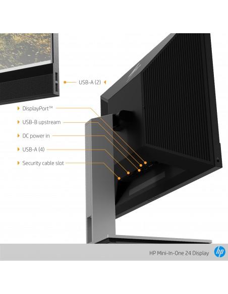 """HP Mini-in-One 24 60.5 cm (23.8"""") 1920 x 1080 pixlar Full HD LED Svart Hp 7AX23AA#ABB - 11"""