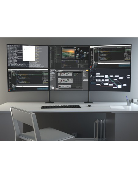 Multibrackets M VESA Desktopmount Triple Stand 24''-32'' Expansion Kit Multibrackets 7350073731329 - 16