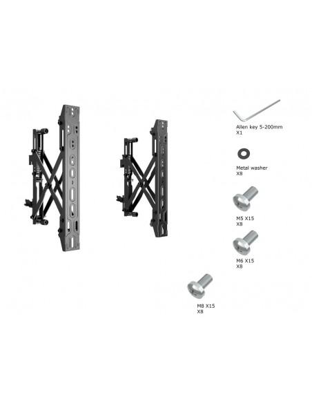 """Multibrackets 4726 kyltin näyttökiinnike 165.1 cm (65"""") Musta Multibrackets 7350073734726 - 16"""