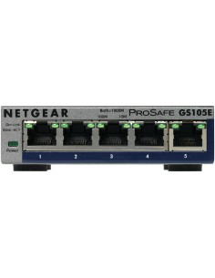 Netgear GS105E-200PES network switch Managed L2/L3 Gigabit Ethernet (10/100/1000) Grey Netgear GS105E-200PES - 1