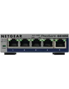 Netgear GS105E-200PES verkkokytkin Hallittu L2/L3 Gigabit Ethernet (10/100/1000) Harmaa Netgear GS105E-200PES - 1