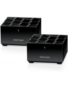 Netgear MK62-100PES verkkolaajennin Verkkolähetin ja -vastaanotin Musta 10. 100. 1000 Mbit/s Netgear MK62-100PES - 1