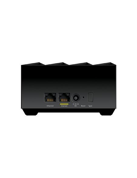 Netgear MK62-100PES verkkolaajennin Verkkolähetin ja -vastaanotin Musta 10. 100. 1000 Mbit/s Netgear MK62-100PES - 4