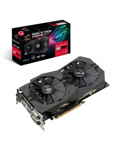 ASUS ROG 90YV0AJ8-M0NA00 grafikkort AMD Radeon RX 570 8 GB GDDR5 Asus 90YV0AJ8-M0NA00 - 1