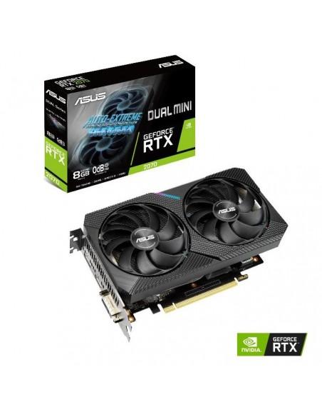 ASUS Dual -RTX2070-8G-MINI NVIDIA GeForce RTX 2070 8 GB GDDR6 Asus 90YV0EC1-M0NA00 - 10