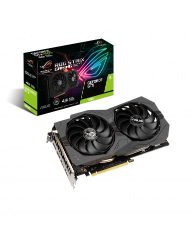 ASUS ROG -STRIX-GTX1650-4GD6-GAMING NVIDIA GeForce GTX 1650 4 GB GDDR6 Asus 90YV0EI2-M0NA00 - 1