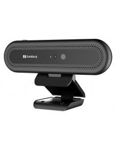 Sandberg Face Recognition Webcam 1080P verkkokamera 2 MP 1920 x 1080 pikseliä USB 2.0 Musta Sandberg 133-99 - 1