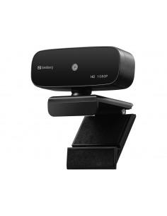 Sandberg 134-14 webbkameror 2 MP 1920 x 1080 pixlar USB 2.0 Svart Sandberg 134-14 - 1