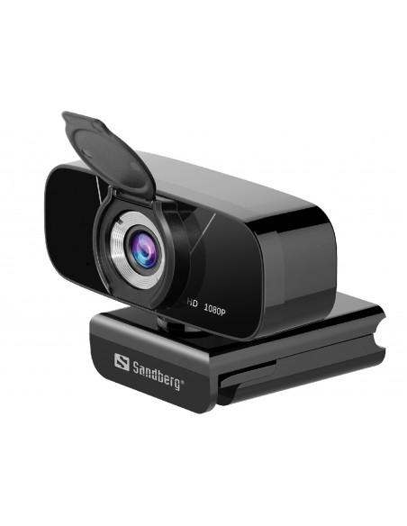 Sandberg 134-15 webbkameror 2 MP 1920 x 1080 pixlar USB 2.0 Svart Sandberg 134-15 - 2