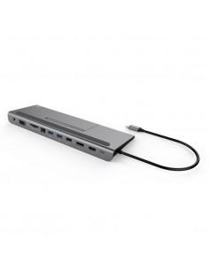 i-tec Metal C31FLATDOCKPDPLUS dockningsstationer för bärbara datorer Kabel USB 3.2 Gen 1 (3.1 1) Type-A Grå I-tec Accessories C3