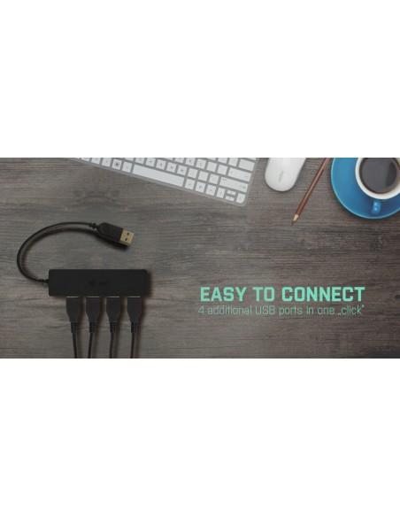 i-tec Advance U3HUB404 keskitin USB 3.2 Gen 1 (3.1 1) Type-A 5000 Mbit/s Musta I-tec Accessories U3HUB404 - 11