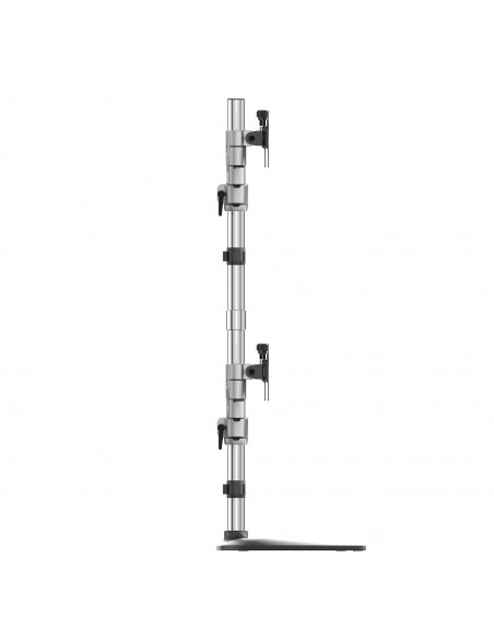 StarTech.com Quad-skärmstativ - Ledat Stål och aluminium Startech ARMQUADSS - 7