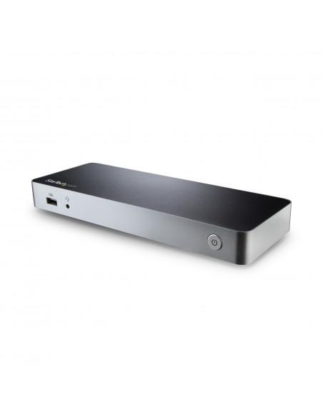StarTech.com USB-C-docka med dubbla skärmar och MST - 5x USB 3.0-portar Startech MST30C2HHPDU - 9