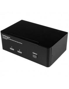 StarTech.com DisplayPort KVM-switch med 2 portar för dubbla skärmar - 4K 60 Hz Startech SV231DPDDUA2 - 1