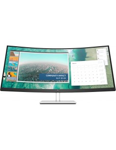 "HP E344c 86.4 cm (34"") 3440 x 1440 pixels Quad HD Silver Hp 6GJ95AA#ABB - 1"