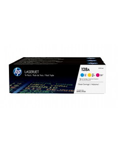 HP 128A CYM 3 pc(s) Original Cyan, Magenta, Yellow Hp CF371AM - 1