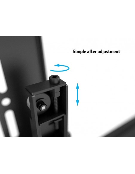 """Multibrackets 5532 TV-kiinnike 139.7 cm (55"""") Musta Multibrackets 7350073735532 - 13"""