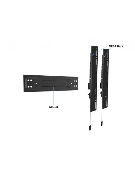 """Multibrackets 5532 TV-kiinnike 139.7 cm (55"""") Musta Multibrackets 7350073735532 - 16"""