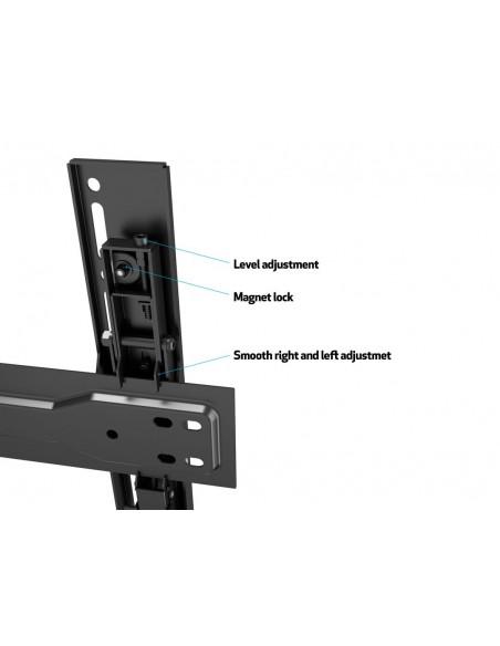 "Multibrackets 5549 tv-fäste 190.5 cm (75"") Svart Multibrackets 7350073735549 - 17"