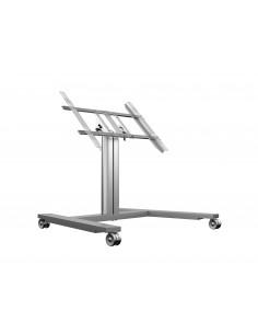 Multibrackets M Public Display Stand 80 HD Wheelbase Single Silver Multibrackets 7350073736829 - 1