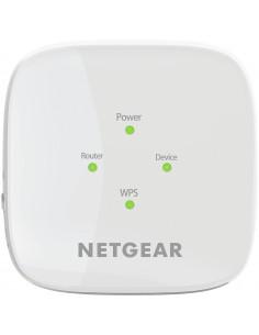 Netgear EX6110 Verkkolähetin ja -vastaanotin Valkoinen 10. 100. 300 Mbit/s Netgear EX6110-100PES - 1