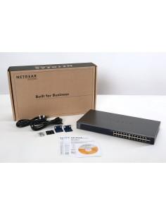 Netgear ProSAFE GS724Tv4 hanterad L3 Gigabit Ethernet (10/100/1000) Blå Netgear GS724T-400EUS - 1