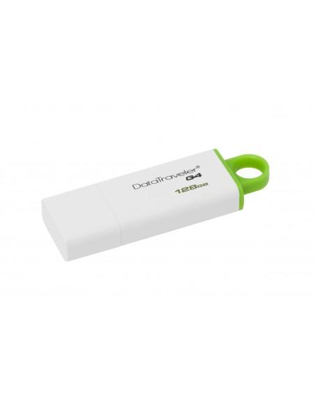 Kingston Technology DataTraveler G4 USB-muisti 128 GB USB A-tyyppi 3.2 Gen 1 (3.1 1) Vihreä, Valkoinen Kingston DTIG4/128GB - 3