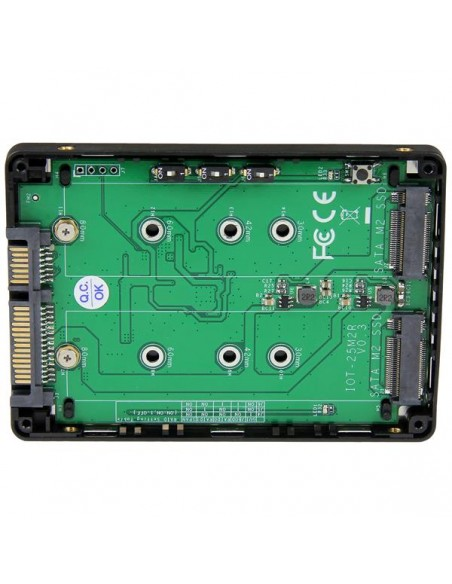 StarTech.com 25S22M2NGFFR liitäntäkortti/-sovitin M.2 Startech 25S22M2NGFFR - 3