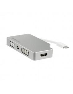 StarTech.com CDPVGDVHDMDP USB grafiikka-adapteri 3840 x 2160 pikseliä Hopea Startech CDPVGDVHDMDP - 1
