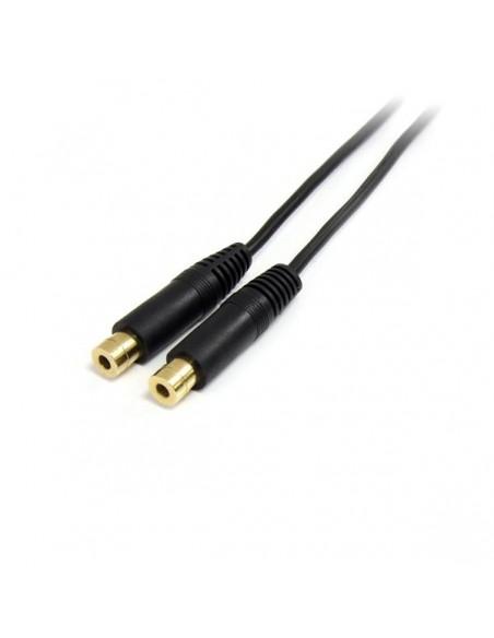 StarTech.com MUY1MFF audiokaapeli 0.15 m 3.5mm 2 x Musta Startech MUY1MFF - 2