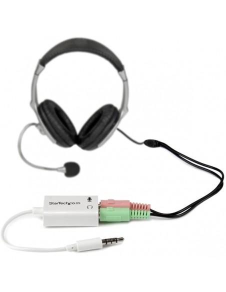 StarTech.com MUYHSMFFADW äänenjakaja Valkoinen Startech MUYHSMFFADW - 3
