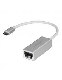 StarTech.com USB-C to Gigabit Network Adapter - Silver Startech US1GC30A - 1
