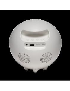 Denver CRLB-400 radioapparater Klockradio Analog Vit Denver 111131010010 - 1