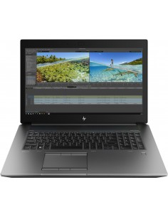 "HP ZBook 17 G6 Mobile workstation 43.9 cm (17.3"") 3840 x 2160 pixels Intel Xeon E 32 GB DDR4-SDRAM 512 SSD NVIDIA Quadro RTX Hp"