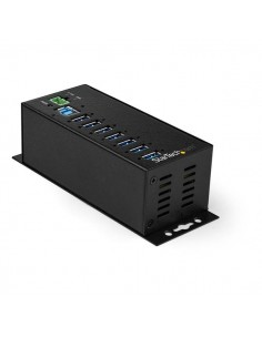 StarTech.com Industriell USB 3.0-hubb med extern strömadapter och 7 portar - ESD- 350 W överspänningsskydd Startech HB30A7AME -
