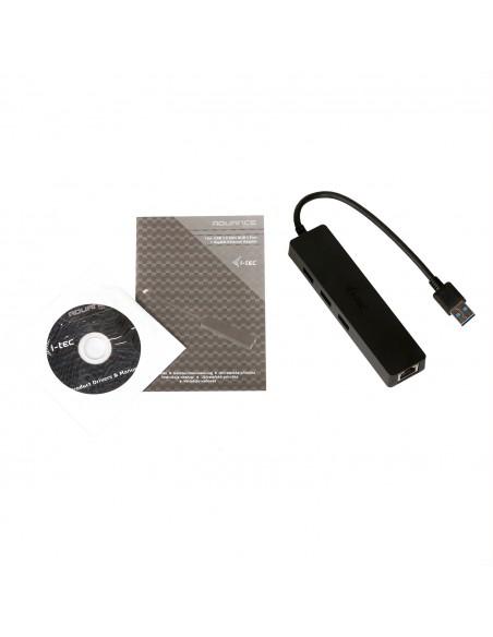 i-tec Advance U3GL3SLIM gränssnittshubbar USB 3.2 Gen 1 (3.1 1) Type-A Svart I-tec Accessories U3GL3SLIM - 7