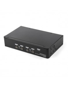 StarTech.com 4 Port DisplayPort - 4K 60Hz Single Display Dual UHD DP 1.2 USB with Integrated 2.0 Hub & Audio Dell, HP, Apple Sta