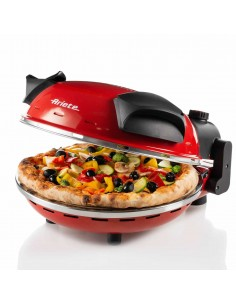 Ariete 0909 pitsan valmistaja & uuni 1 pitsa(a) 1200 W Musta, Punainen Ariete 00C090900AR0 - 1