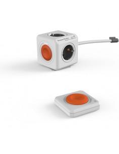 allocacoc-powercube-remote-extended-jatkojohto-1-5-m-4-ac-pistorasia-a-oranssi-harmaa-valkoinen-1.jpg