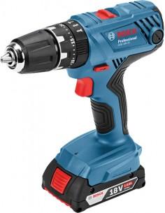 Bosch GSB 18V-21 Professional 1800 RPM 1.2 kg Svart, Blå Bosch 06019H1108 - 1