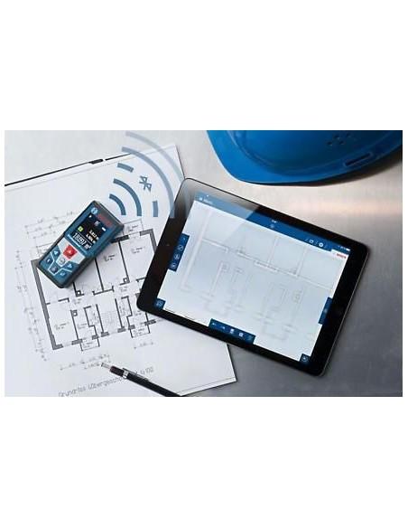 Bosch GLM 50C Avståndslasermätare Svart 50 m Bosch 06159940H0 - 2