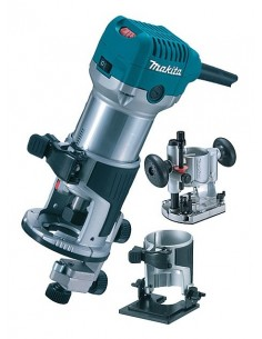 Makita RT0700CX2J yläjyrsin ja trimmeri Musta, Syaani, Metallinen 710 W Makita RT0700CX2J - 1